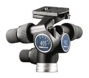 Manfrotto 405 Geared Head tripod Zwart