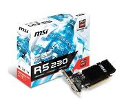 MSI R5 230 2GD3H LP Radeon R5 230 2 GB GDDR3