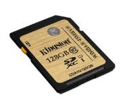 Kingston SDHC/SDXC Class 10 UHS-I 128GB flashgeheugen Klasse 10