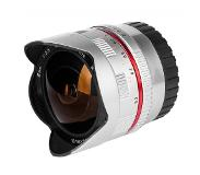 Samyang 8mm f/2.8 UMC Fish-eye Zilver