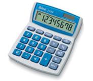 Ibico 208X calculator Desktop Basisrekenmachine Blauw, Wit