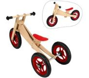 Geuther - Loopfiets 2in1 Bike - Blank/Rood