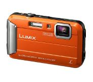 "Panasonic Lumix DMC-FT30 Compactcamera 16.1MP 1/2.33"" CCD 4608 x 3456Pixels Oranje"