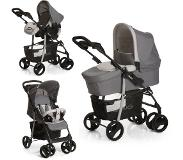 Hauck Buggy Shopper SLX Trioset stone/grey