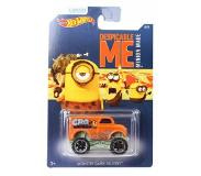 Hot wheels Despicable Me Minions auto Monster DD oranje 6 cm