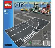 LEGO City 7281 T-risteys & kaarre