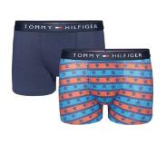 Tommy Hilfiger 2 PACK BOXERSHORTS / TRUNK STARS & STRIPES BOYS, 140/146 (Blauw, 140/146)