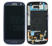 Samsung Galaxy S3 Neo LCD + Digitizer Assembly - Blue voor Samsung GT-I9301 Galaxy S3 Neo