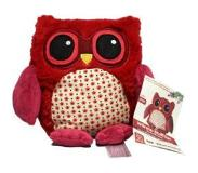 Warmies Magnetronknuffel - Uil Rood