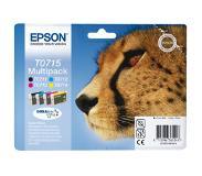 Epson Multipack 4-väriä T0715 DURABrite Ultra Ink