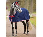 Kerbl Zweetdeken Rugbe Fleece Navy/Rood