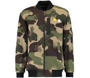Quiksilver NU 15% KORTING: Bomber in lang model »Trestles Army«