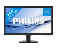 Philips LCD-monitor met SmartControl Lite 240V5QDAB/00