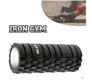 Iron gym trigger point roller Zwart