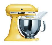 KitchenAid 5KSM150PS Staande mixer 300W Geel