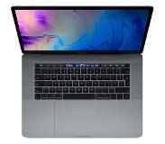 Apple MacBook Pro 15-inch Touch Bar en Touch ID (2,2GHz 6-core i7 / 16GB / 512GB / Radeon Pro 555X 4GB) - Spacegrijs