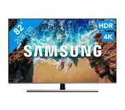 "Samsung Series 8 UE82NU8000TXZT LED TV 2,08 m (82"") 4K Ultra HD Smart TV Wi-Fi Zwart, Zilver"