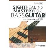 Musicsales Sight reading mastery for bass guitar : learn to read music the right way