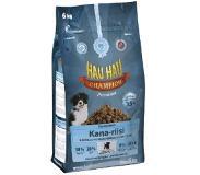 tokmanni.fi Hau-Hau Champion Kana-Riisi Täysravinto Pennuille 6 kg