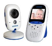 Luvion Easy RF 250m Blauw, Wit baby-videomonitor