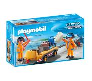 Playmobil City Action luchtverkeersleiders met bagagetransport 5396