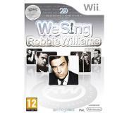 Party & Muziek Nordic Games - We Sing: Robbie Williams (Wii)