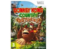 Avontuur; Platform Nintendo - Donkey Kong Country Returns (Wii)