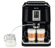 Krups EA8808 Espresso machine 1.7l 2kopjes Zwart, Roestvrijstaal koffiezetapparaat