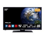 "Finlux FL3222SMART 32"" HD Smart TV Zwart LED TV"