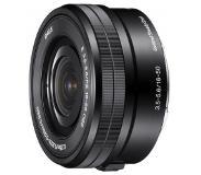Sony SELP1650 lentille et filtre d'appareil photo