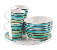 Easy Camp Java Melamine Set Campingservies en keukenuitrusting 4 Persons bont 2018 Kook- en serviessets