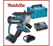 Makita SD100DSAJ 6mm 10.8V Lithium-Ion (Li-Ion) Zwart, Blauw accu reciprozaag