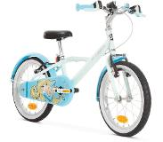 B'twin Kinderfiets 16 inch 4-6 jaar 500 Blue Princess