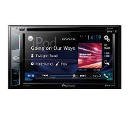 Pioneer AVH-X3800DAB – Dubbel-DIN CD/DVD/MP3-Autoradio met Touchscreen / Bluetooth / DAB / USB / AUX