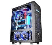 Thermaltake Core X71 TG Edition Full-Tower Zwart computerbehuizing