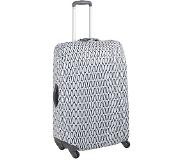 Delsey Travel Necessities Expandable Suitcase Cover S/M eiffel tower