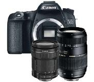 Canon EOS 70D + 18-135mm iS STM + Tamron 70-300mm Di LD Macro