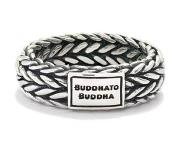 Buddha to buddha Ellen Small zilveren ring Zilver 16,0 mm