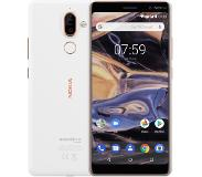 Nokia 7 plus Dual SIM 4G 64GB Koper, Wit