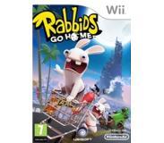 dvd Ubisoft - Rabbids Go Home, Wii