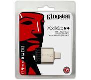 Kingston Technology MobileLite G4 USB 3.0 Zwart, Grijs geheugenkaartlezer