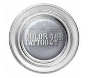 Maybelline Color Tattoo 24hr Oogschaduw 50 Eternal Silver 35ml