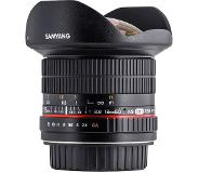Samyang 12mm f/2.8 ED AS NCS Fisheye Nikon AE