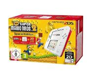 "Nintendo 2DS + New Super Mario Bos.2 draagbare game console Wit 8,97 cm (3.53"") Touchscreen Wi-Fi"