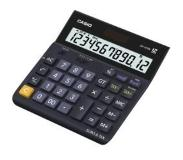 Casio DH-12TER calculator Desktop Basisrekenmachine Zwart