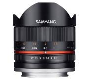 Samyang 8mm Fisheye f/2.8 CS II MC Sony E-system Zwart