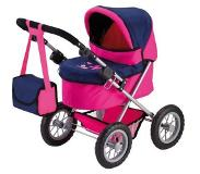 Bayer Design Poppenwagen Trendy, Plum