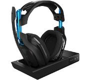 Logitech 7.1 Draadloze gaming headset PS4/PC/Mac A50 + Laadstation Zwart