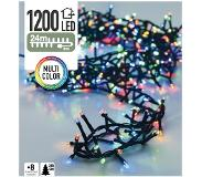 Decorative Lighting Micro Cluster 1200 LED's 24 meter multicolor