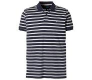 Esprit regular fit polo Donkerblauw/wit XL